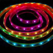Voděodolný RGB LED pásek 5050 30 SMD/m 5m bal.