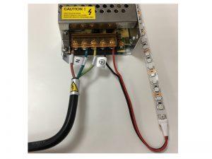 LED zdroj zapojení