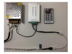 RGB LED zdroj zapojení