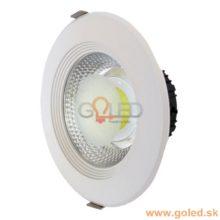 Prémiové zapuštěné okrouhlé bílé LED svítidlo