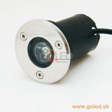 LED svítidlo do podlahy 1W
