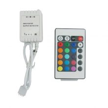 LED dálkový IR ovladač RGB 72W