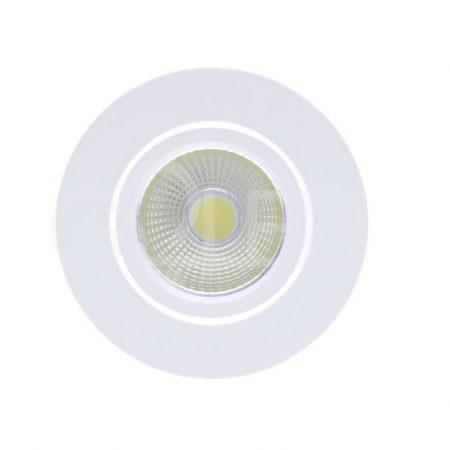 Zápustné kulaté bílé LED svítidlo 3W