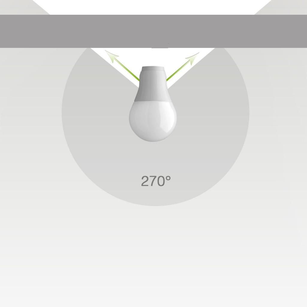 Úhel vyzařování 270°