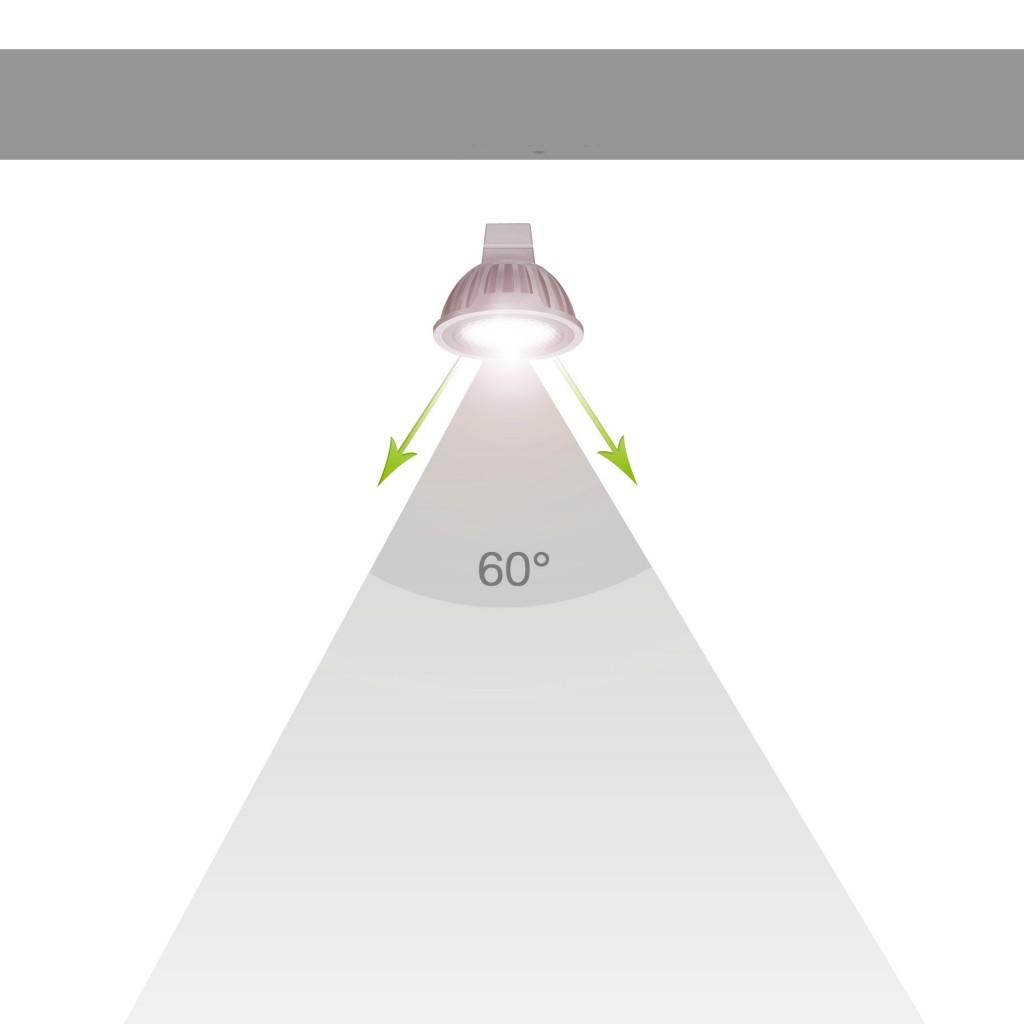 Úhel vyzařování 60°