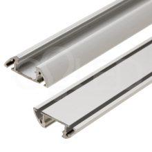 Hliníkový profil STOS ALU s povrchovou úpravou 2m