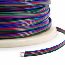 Napájecí kabel pro RGB pásky 4x0,35mm