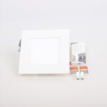 Zápustný LED panel 6W čtverec