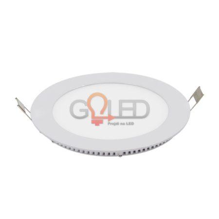 Okrouhlý zápustný LED panel
