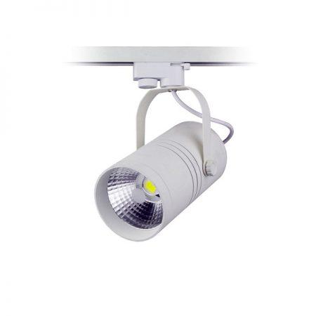 Bílý LED COB reflektor 25W do interiéru