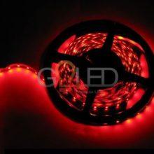 Voděodolný červený LED pásek 3528 60 SMD/m 5m bal.