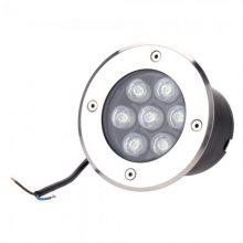 Okrouhlé LED svítidlo do podlahy