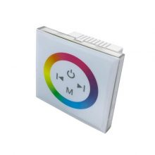 LED dotykový RGB panel pro instalaci do krabice