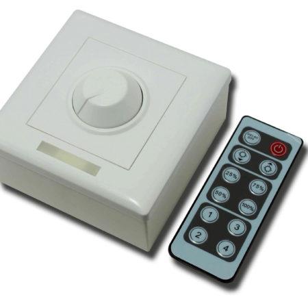 Manuální LED stmívač s infra dálkovým ovládáním 96W