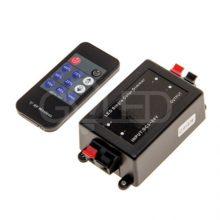 LED stmívač s RF dálkovým ovládáním s časovačem vypnutí 12V/24V 8A