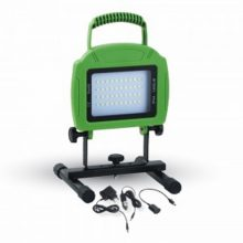 Přenosný nabíjecí LED reflektor 20W s akumulátorem