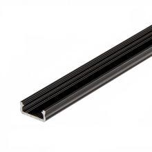 Černý hliníkový profil
