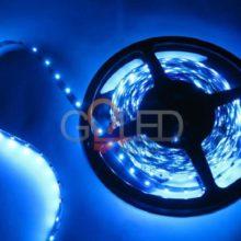 Voděodolný modrý LED pásek 3528 60 SMD/m 5m bal.