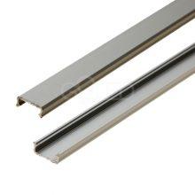 Stříbrný hliníkový profil