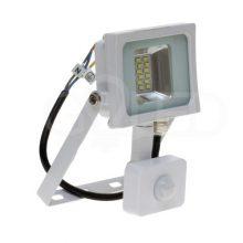 Prémiový bílý LED reflektor 10W s pohybovým čidlem