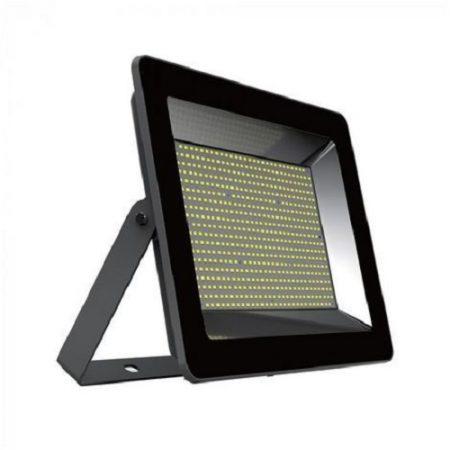 Prémiový černý LED reflektor 100W