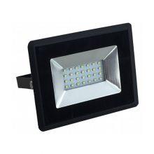 Prémiový černý LED reflektor 10W