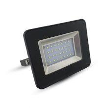 Prémiový černý LED reflektor 20W