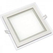 Prémiový hranatý zápustný LED panel 12W s volitelnou barvou světla