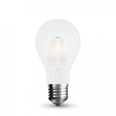 Opálová LED filament žárovka E27 A67 9W