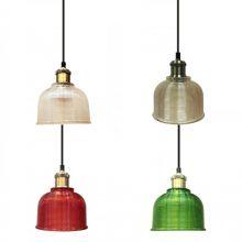 Závěsná lampa (4 barvy)