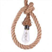 Závěsná lampa lano