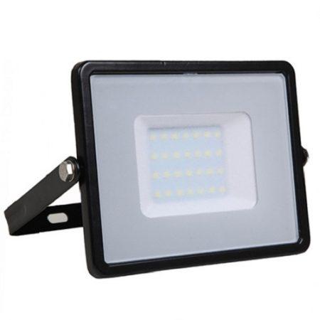 Profesionální černý LED reflektor 50W se SAMSUNG čipy
