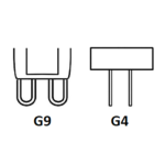 Patice žárovek G4 a G9