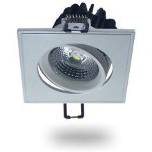 Zapuštěné naklopitelné bílé LED svítidlo 5W čtverec