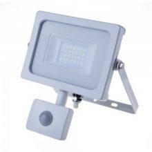 Profesionální bíly LED reflektor 20W s pohybovým čidlem se SAMSUNG čipy