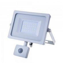 Profesionální bílý LED reflektor 30W s pohybovým čidlem se SAMSUNG čipy