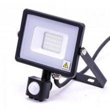 Profesionální LED reflektor 20W s pohybovým čidlem se SAMSUNG čipy