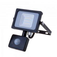 Profesionální LED reflektor 10W s pohybovým čidlem se SAMSUNG čipy