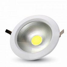 Zapuštěné kulaté bílé LED svítidlo 10W