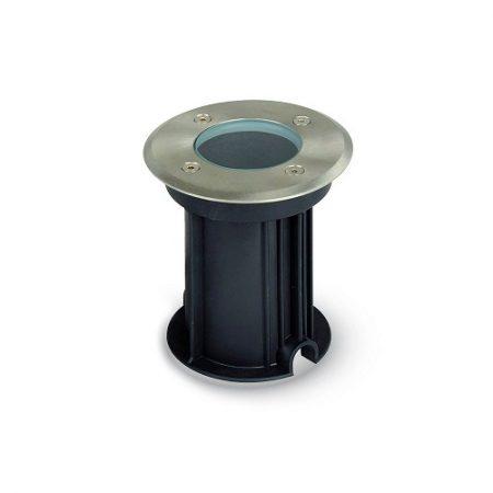 Hliníkové kulaté svítidlo do podlahy na GU10 žárovky
