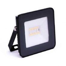 Černý smart RGB+W LED reflektor 20W