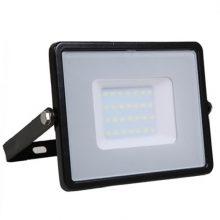 Profesionální černý LED reflektor 50W s vysokou svítivostí (120lm/W) se SAMSUNG čipy