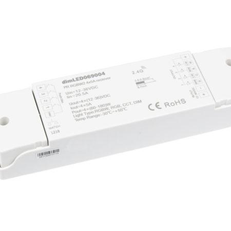 Přijímač k RF ovladači pro RGB+W LED pásek
