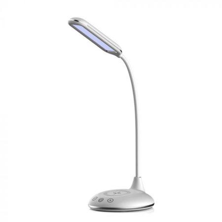 Bílá stmívatelná stolní LED lampa 4W