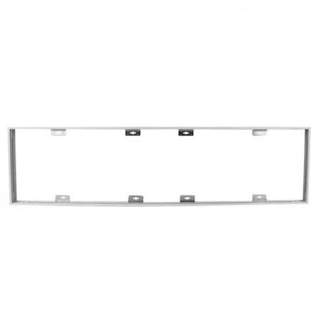 Skládací rám pro povrchovou montáž LED panelů 120x30cm