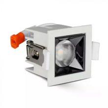 Zapuštěné hranaté bílé LED svítidlo 4W 12° SAMSUNG čipy CRI90
