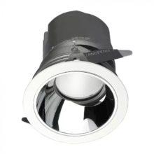 Zapuštěné kulaté LED svítidlo 10W 0-27° CRI95