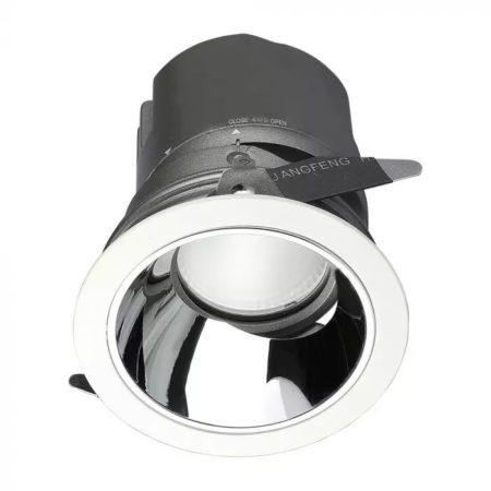 Zapuštěné kulaté LED svítidlo 15W 0-27° CRI95